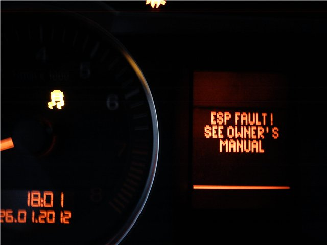 AUDI C6 ESP FAULT! (0-20) « AudiFanai