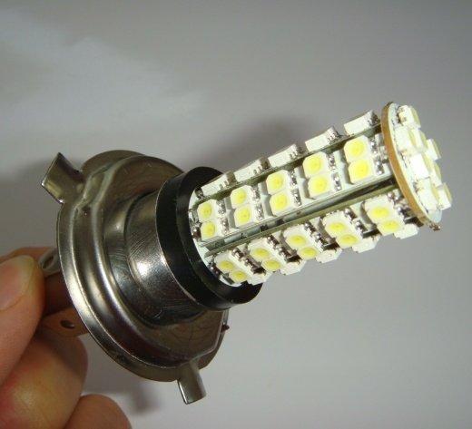 H4 lemputes automobiliams